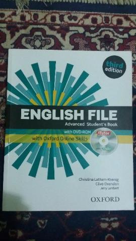 English File Advanced Student Book Itutor - Em perfeito