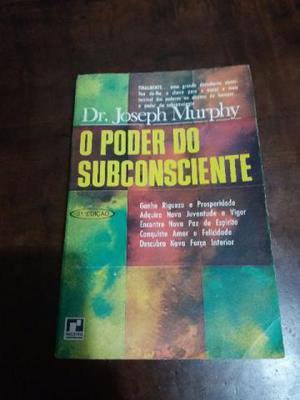 Livro O Poder do Subconsciente – Dr. Joseph Murphy