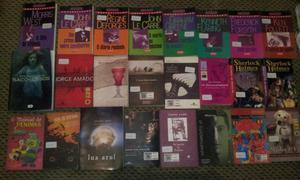 Livros diversos Lote completo apenas