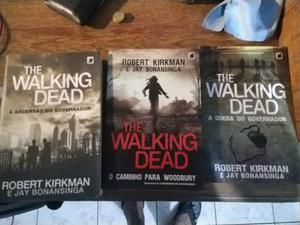 3 Livros The Walking Dead