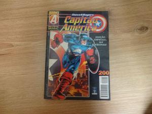 Capitao América 200 Editora Abril Marvel Gibi Hq Especial