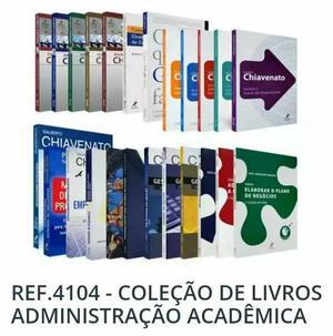Coleção de Livros Administração Acadêmica