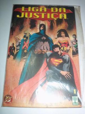 Liga da Justiça 1 e 2 (2ª série - Editora Abril - )