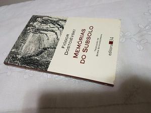 Livro Livro Memórias Do Subsolo Fiodor Dostoievski