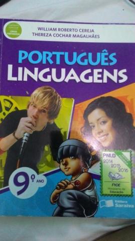 Livro Português Linguagens 9 Ano