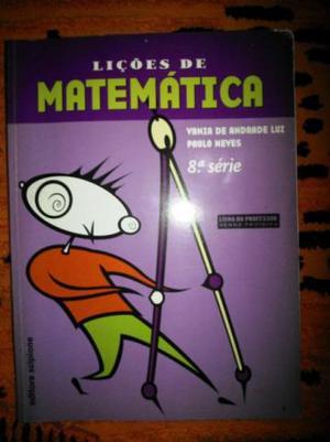 Livro lições de matemática vania de Andrade