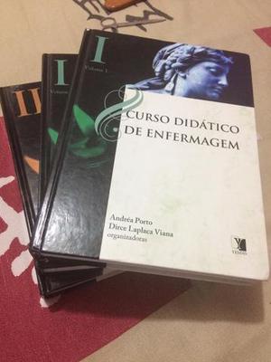 Livros didáticos do curso de enfermagem