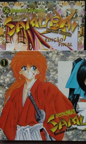 Mangá Samurai X coleção completa