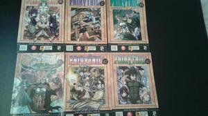 Mangá fairy tail vários volumes 10 reais cada