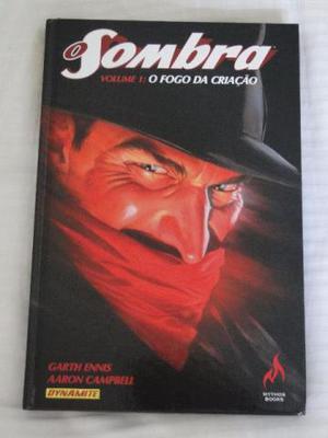 O Sombra Volume 1: O Fogo Da Criação Garth Ennis Mythos