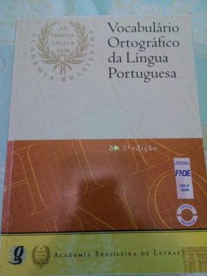 Vocabulário Ortográfico Da Língua Portuguesa 5 Ed