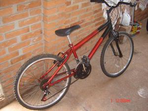 Bicicleta Bikeland 18 marchas aro 24 ótimo estado e