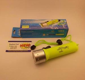 Lanterna A Prova Dagua (Mergulho ou Pesca) 180L / 20M