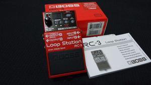 Pedal Boss RC-3 Loop Station com Caixa e Manual