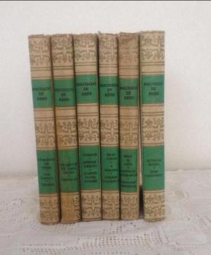 Coleção de Livros de Machado de Assis