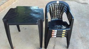 Jogos de Mesas Com Cadeiras Estilo Poltrona