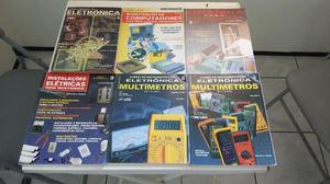 Livro Curso de Instrumentação Eletrônica Multímetros -