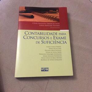 Livro NOVO - Contabilidade para concursos e Exame de