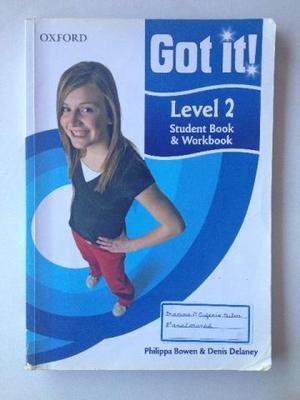 Livro de Inglês Got It - Level 2 - Student's Book &