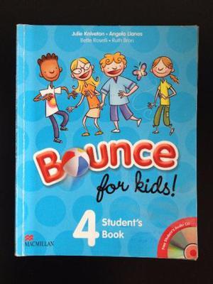 Livro de InglêsBounce for Kids - Editora MACMILLAN,
