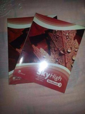 Livro de inglês (workbook) sky high 3