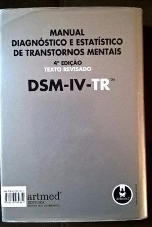 Manual Diagnóstico e Estatístico de Transtornos Mentais