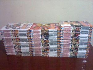 Coleção de Mangá do Naruto (normal e pocket)