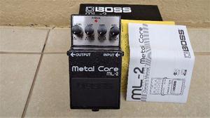 Pedal Boss ML-2 Metal Core com Caixa e Manual