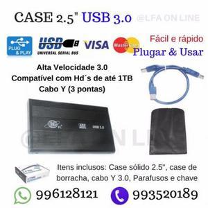Transforme seu Hd de Notebook em Hd externo: Case 2.5 Usb
