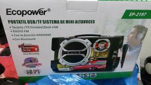 Vendo caixa amplificada com rádio USB microfone