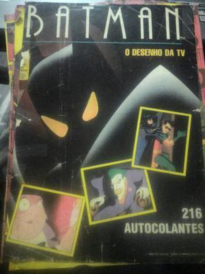Álbum de figurinhas do Batman