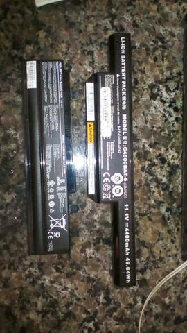 Baterias de notebook Itautec e Netbook acer