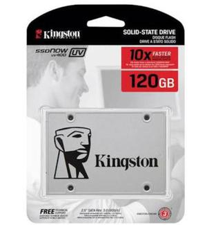 Ssd Kingston GB UV400 SATA III Leituras: 450MB/s -