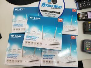 Modem E Roteador Wi-Fi 2 Antenas c/1ano de garantia
