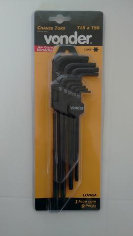 Kit Chave Torx Vonder