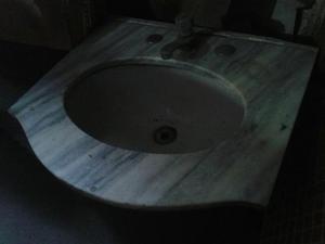 Tampo pia de banheiro em granito  Posot Class -> Tampo Para Pia De Banheiro