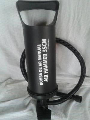 Bomba de ar manual nova na caixa