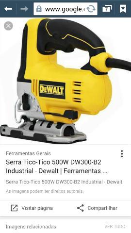 Serra Tico Tico Dewalt NOVA 220V
