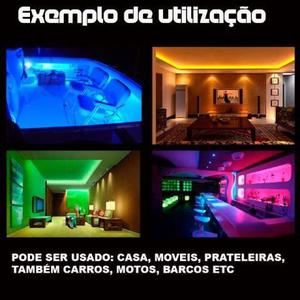 Aproveite - Fita LED - Rolo 5 metros - Brinde Fonte - Menor