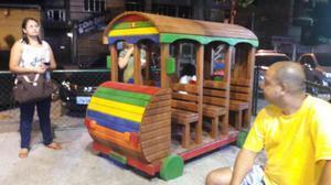 Casinha De Madeira e Brinquedos de Madeira em Todo Rio de
