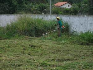 Limpeza de terreno e roçagem