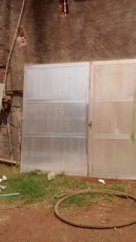 Portão em aluminio