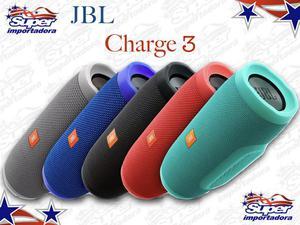 Caixa de som JBL Charge 3 Nova com NF