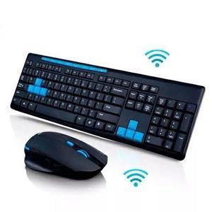 Kit Teclado + Mouse sem fio