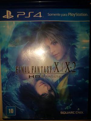 Final Fantasy X | X-2 HD PS4 aceito trocar