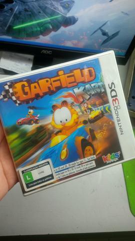 Garfield Kart jogo lacrado Nintendo 3DS