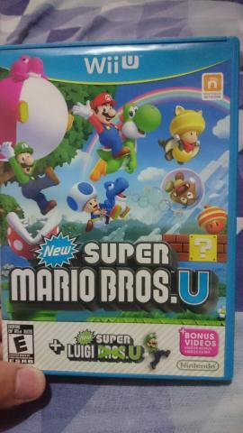 New Super Mario Bros U + Luigi