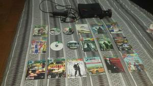 Xbox 360 slim destravado com 18 jogos paralelos