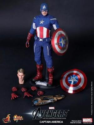 Capitão América - Hot Toys - Vingadores