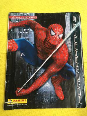 Álbum de Figurinhas do Homem Aranha 3